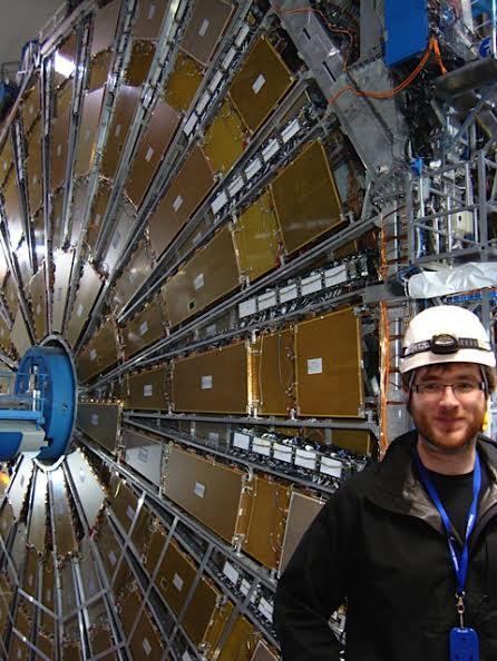 Tom Levens at CERN