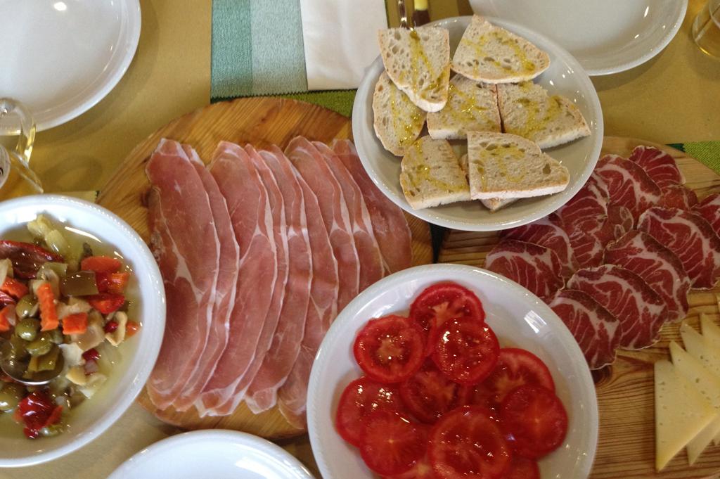 Antipasta (starter)