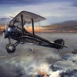 Camel 2F1s Tondern Raid 1918