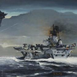 Cameron, Dugald, b.1939; HMS 'Ark Royal'