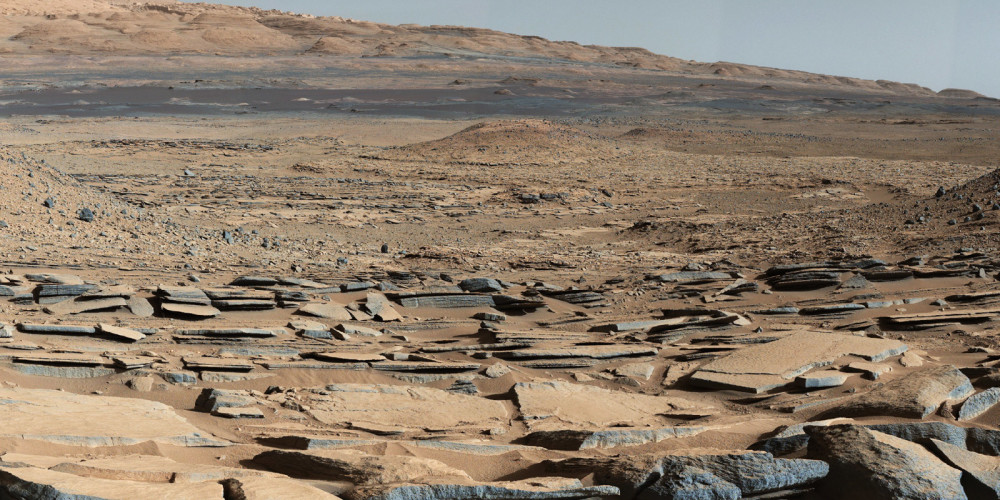 Part of Gale Crater on Mars