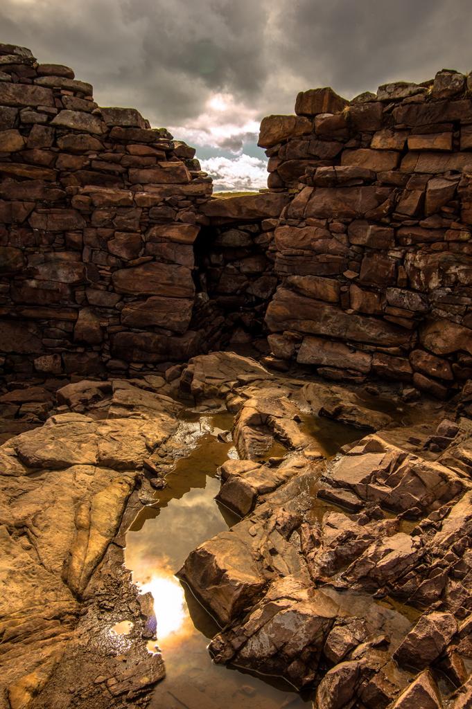 Clachtoll Broch by Dave McBain