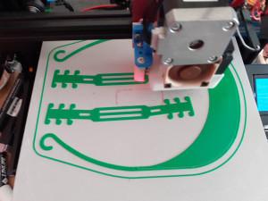 printing bendy leg highland with strap Bill L