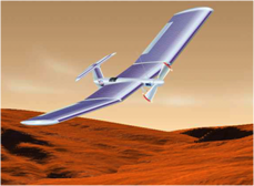 Solar-powered 'scout' airplane