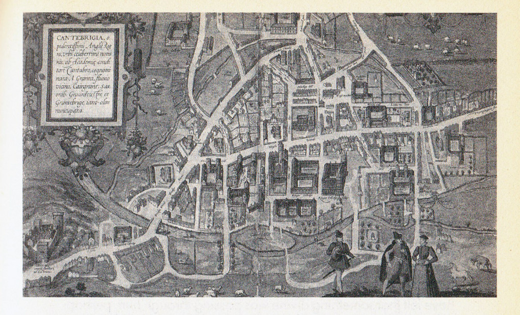 Old Cambridge map